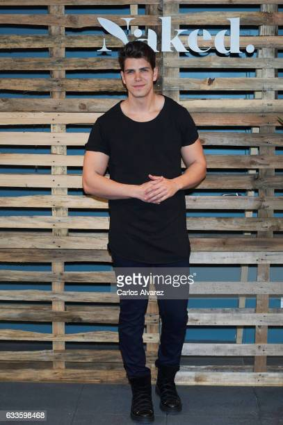 Diego Matamoros attends 'Naked' opening party on February 2 2017 in Madrid Spain