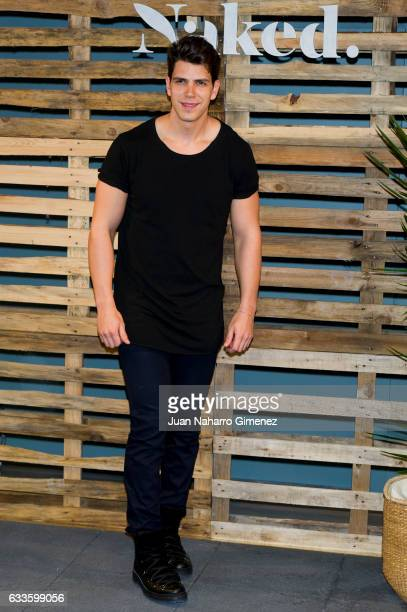 Diego Matamoros attends the 'Naked' presentation at Naked on February 2 2017 in Madrid Spain