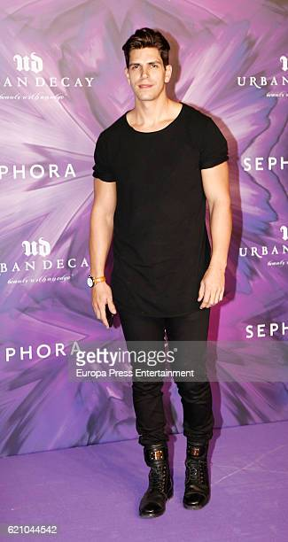 Diego Matamoros attends the Urban Decay 20th anniversary photocall at LAB disco on November 3 2016 in Madrid Spain