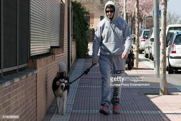 Diego Matamoros is seen on March 16 2016 in Madrid Spain