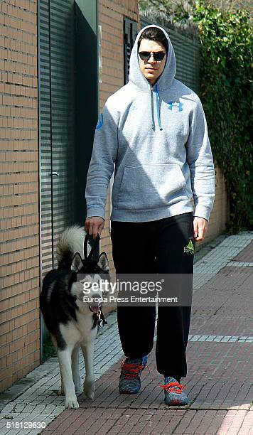 Diego Matamoros is seen on March 29 2016 in Madrid Spain