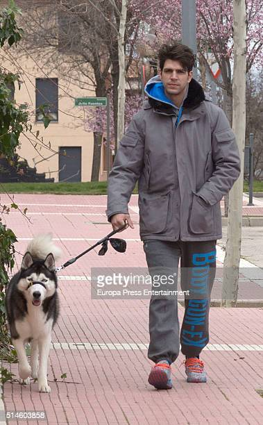 Diego Matamoros is seen on March 9 2016 in Madrid Spain