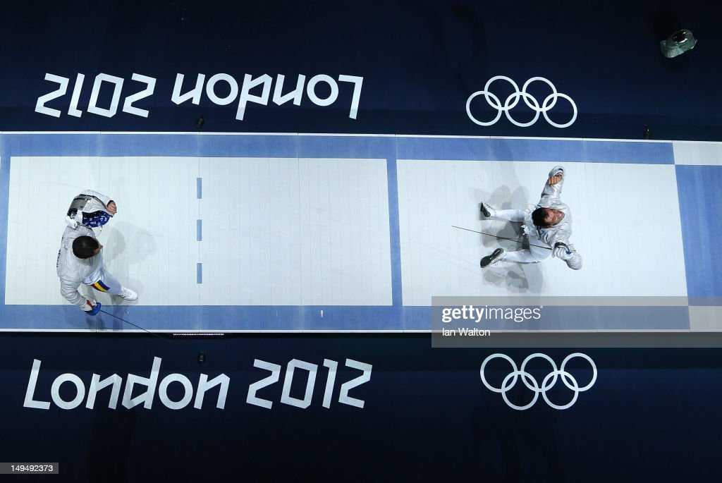 Olympics Day 2 - Fencing