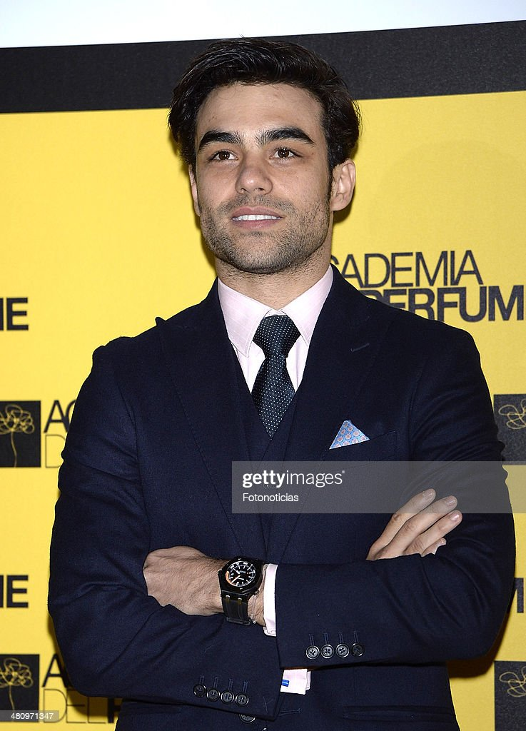 <a gi-track='captionPersonalityLinkClicked' href=/galleries/search?phrase=Diego+Osorio&family=editorial&specificpeople=2607003 ng-click='$event.stopPropagation()'>Diego Osorio</a> attends the 2014 Perfume Academy awards at Casa de America on March 27, 2014 in Madrid, Spain.
