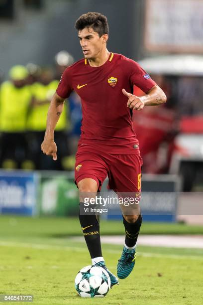 Diego Perotti of AS Roma during the UEFA Champions League group C match match between AS Roma and Atletico Madrid on September 12 2017 at the Stadio...