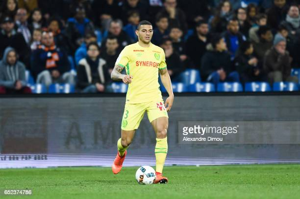 Diego Santos Silva of Nantes during the Ligue 1 match between Montpellier Herault and Fc Nantes at Stade de la Mosson on March 11 2017 in Montpellier...