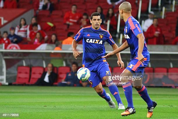 Diego Souza of Sport during the match between Internacional and Sport as part of Brasileirao Series A 2015 at Estadio BeiraRio on October 03 in Porto...