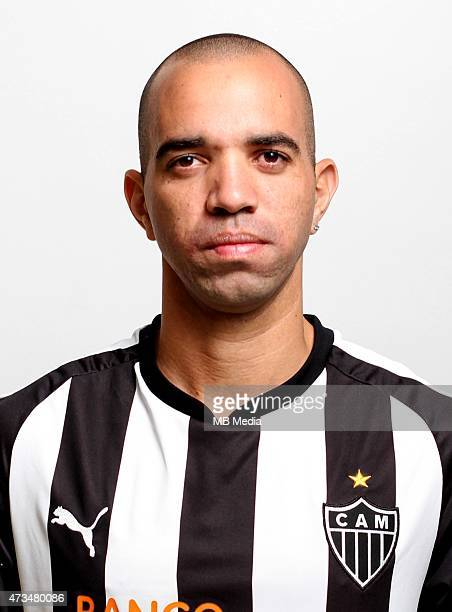 Diego Tardelli of Clube Atletico Mineiro poses during a portrait session on August 14 2014 in Belo HorizonteBrazil