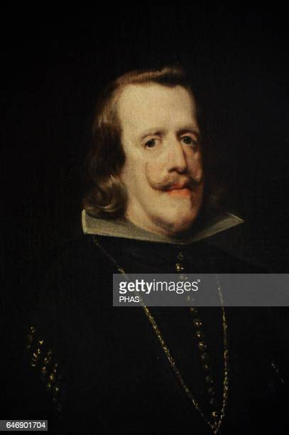 Diego Velazquez Spanish painter Baroque Period Spanish Golden Age Portrait of Philip IV of Spain 16561660 The State Hermitage Museum St Petersburg...