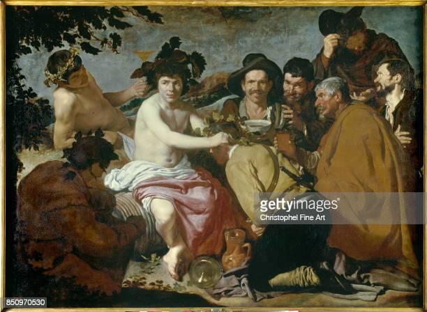 Diego Velazquez The Feast of Bacchus 16281629 Oil on canvas 165 x 225 m Madrid museo del Prado