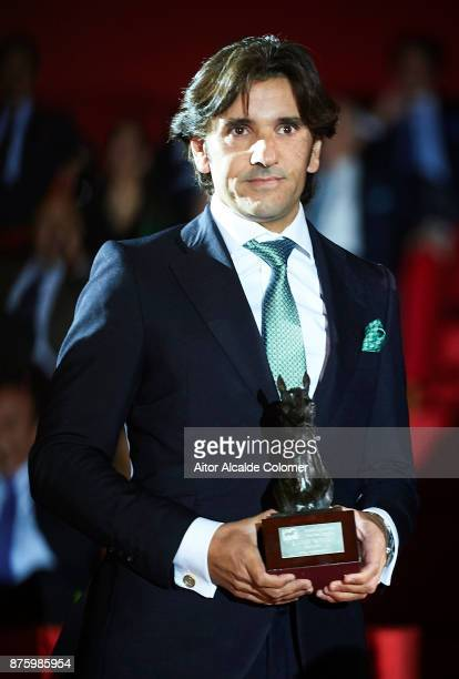 Diego Ventura attends the SICAB Closing Gala 2017 on November 18 2017 in Seville Spain