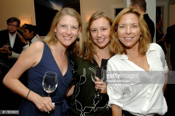 Diella Coberstein Francesca Andreani and Fissy Diggers attend OLDMAN'S BRAVE NEW WORLD OF WINE Book Launch Hosted by W W Norton and Mark Oldman at...