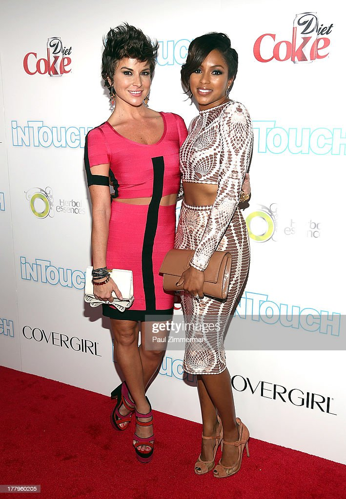 Diem Brown and Alicia Quarles attend In Touch Weekly's 2013 Icons & Idols event at FINALE Nightclub on August 25, 2013 in New York City.