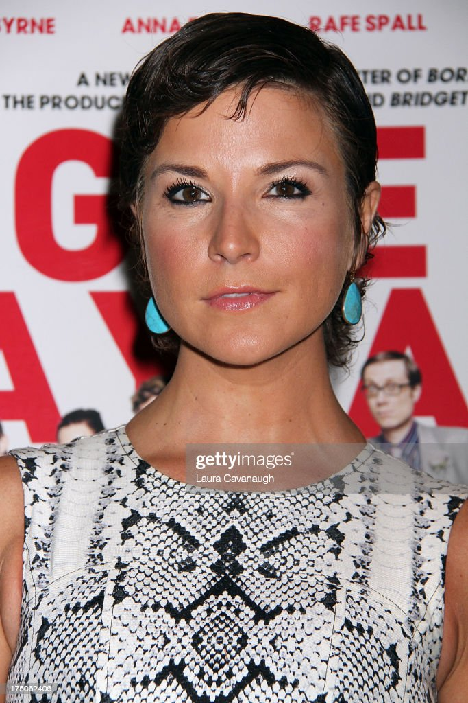 Diem Brown attends the 'I Give It A Year' screening at the Crosby Street Theater on July 30, 2013 in New York City.
