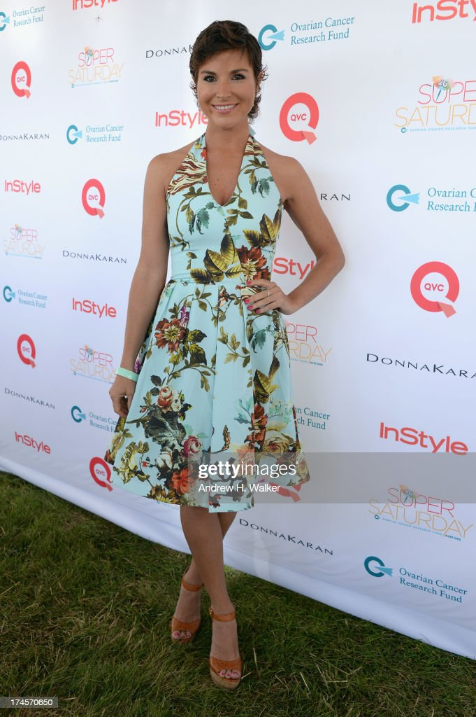 <a gi-track='captionPersonalityLinkClicked' href=/galleries/search?phrase=Diem+Brown&family=editorial&specificpeople=962153 ng-click='$event.stopPropagation()'>Diem Brown</a> attends the Ovarian Cancer Research Fund's 16th Annual Super Saturday hosted by Kelly Ripa and Donna Karan at Nova's Ark Project on July 27, 2013 in Water Mill, NY.