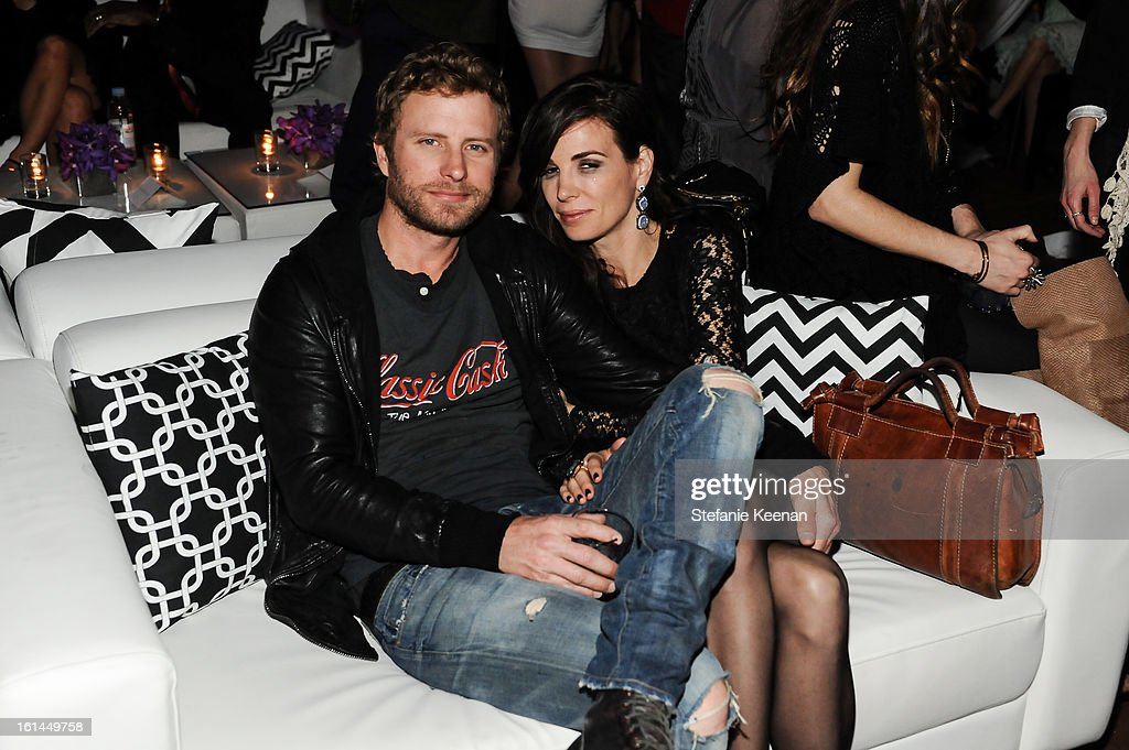 Dierks Bentley and Cassidy Black attend Red Light Management Grammy After Party at Mondrian Los Angeles on February 10, 2013 in West Hollywood, California.