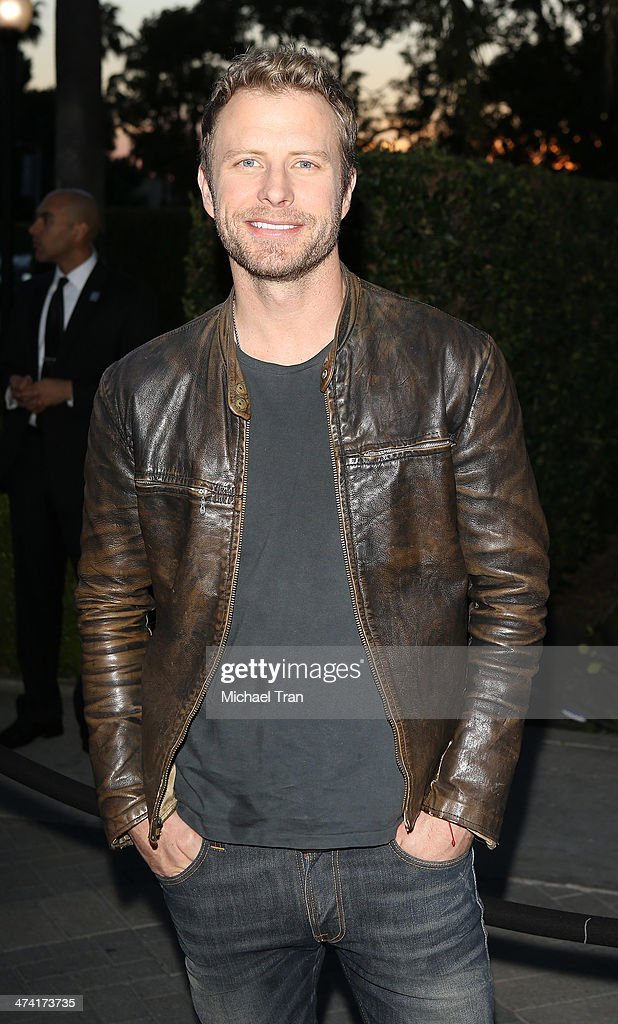 <a gi-track='captionPersonalityLinkClicked' href=/galleries/search?phrase=Dierks+Bentley&family=editorial&specificpeople=243007 ng-click='$event.stopPropagation()'>Dierks Bentley</a> arrives at the Los Angeles premiere of 'Bob Hoover's Legacy' held at Paramount Theater on the Paramount Studios lot on February 21, 2014 in Hollywood, California.