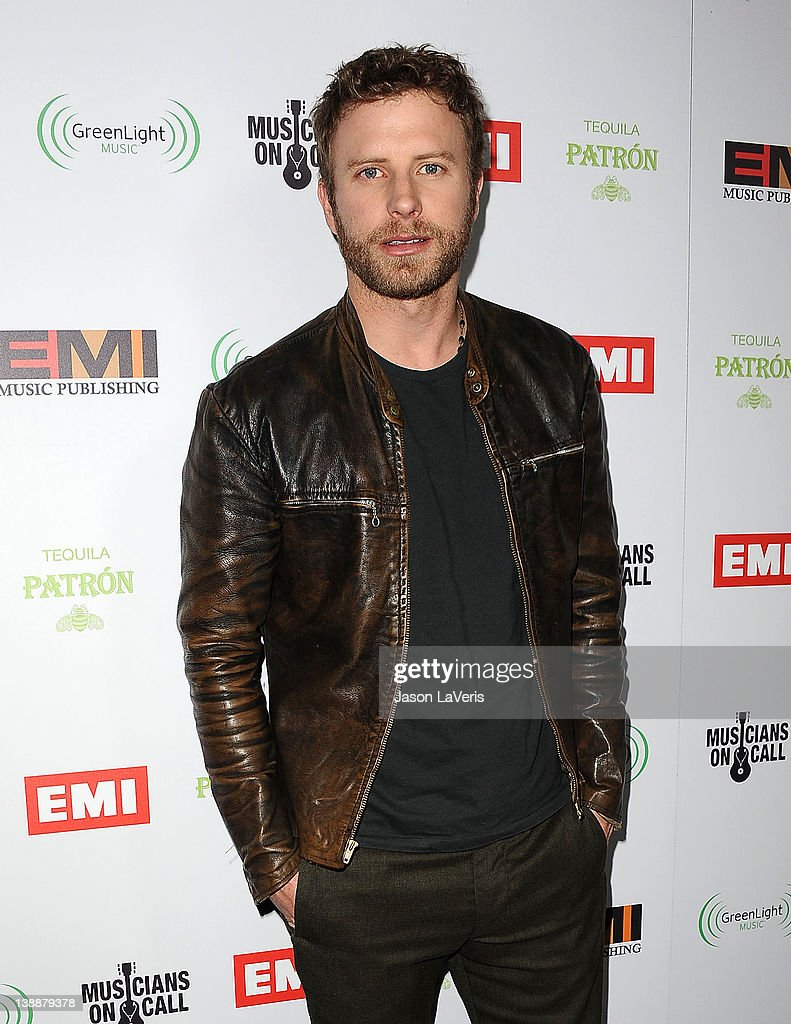 <a gi-track='captionPersonalityLinkClicked' href=/galleries/search?phrase=Dierks+Bentley&family=editorial&specificpeople=243007 ng-click='$event.stopPropagation()'>Dierks Bentley</a> attends the EMI Grammy after party on February 12, 2012 in Hollywood, California.
