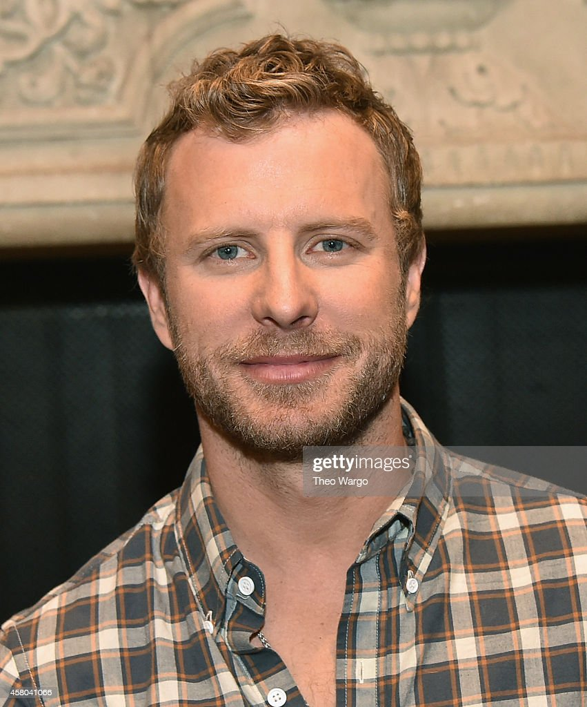 Dierks Bentley attends the Live Nation And Founder's Entertainment Press Conference With Dierks Bentley at Rose Bar at Gramercy Park Hotel on October...