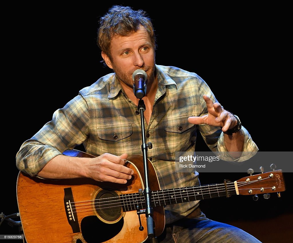 Dierks Bentley performs during The Country Music Hall of Fame and Museum Presents an Interview and Acoustic Performance With Dierks Bentley and...
