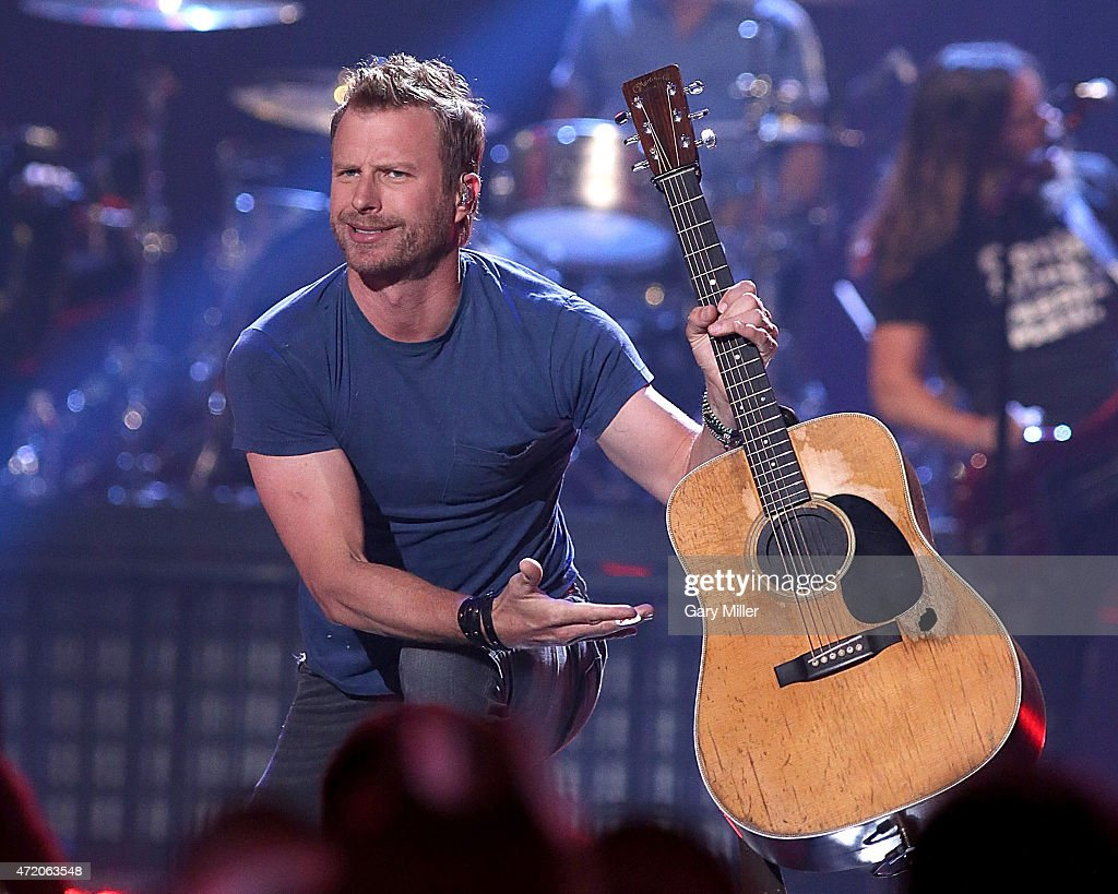 Dierks Bentley performs in concert during the iHeartRadio Country Festival at The Frank Erwin Center on May 2 2015 in Austin Texas