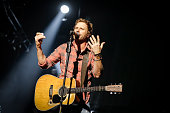 Dierks Bentley performs live at the Canadian Tire Centre on December 2 2014 in Kanata Ontario Canada