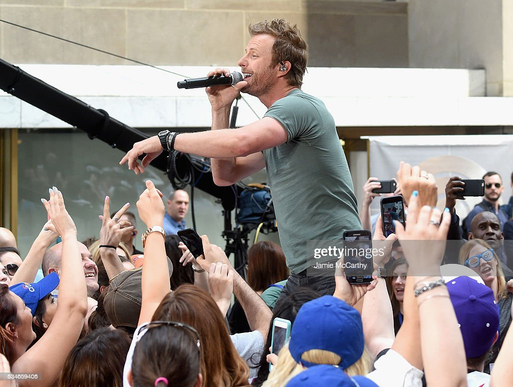 <a gi-track='captionPersonalityLinkClicked' href=/galleries/search?phrase=Dierks+Bentley&family=editorial&specificpeople=243007 ng-click='$event.stopPropagation()'>Dierks Bentley</a> performs On NBC's 'Today' at Rockefeller Plaza on May 27, 2016 in New York City.