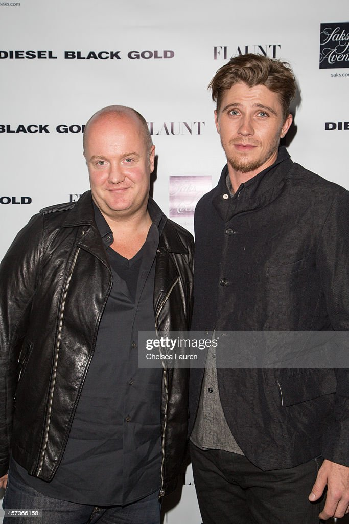 Diesel Black Gold designer Andreas Melbostad and actor Garrett Hedlund attend the Diesel Black Gold at Saks Fifth Avenue Launch and Flaunt Magazine...