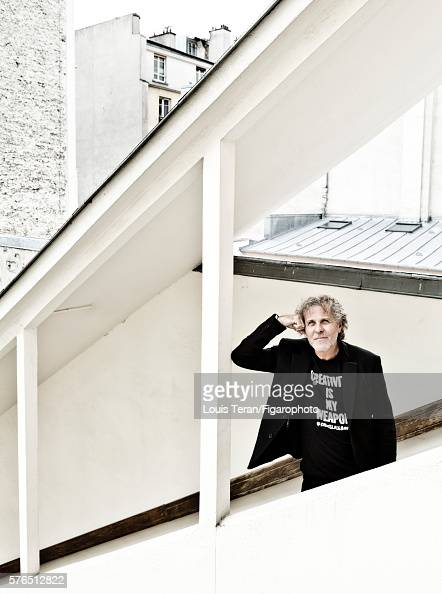 Diesel founder Renzo Rosso is photographed for Madame Figaro on May 17 2016 in Paris France PUBLISHED IMAGE CREDIT MUST READ Louis...