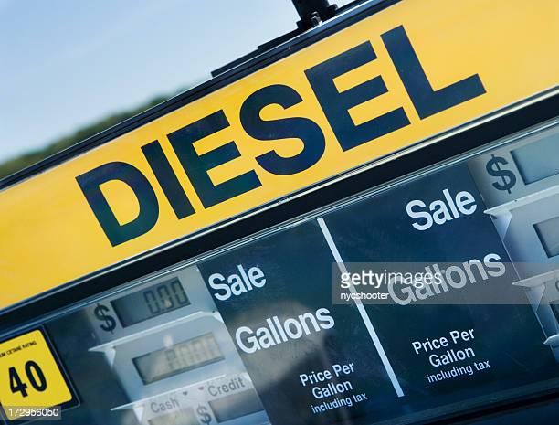 Diesel-Zapfsäule