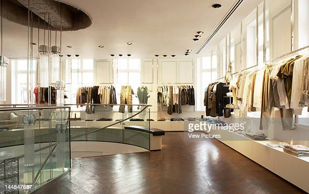 Diesel New Bond Street London W1 United Kingdom Architect Leckenby Associates Diesel Flagship Store Leckenby Associates London View Of Shop Floor...