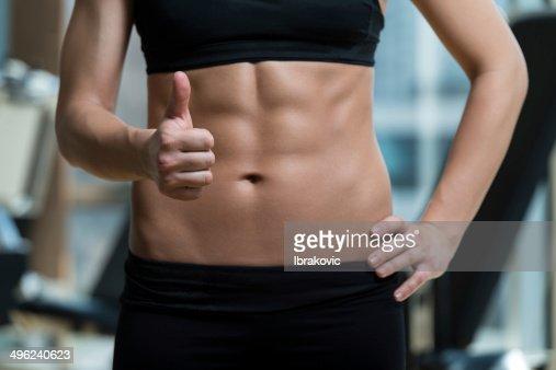 Concepto de dieta y ejercicios : Foto de stock