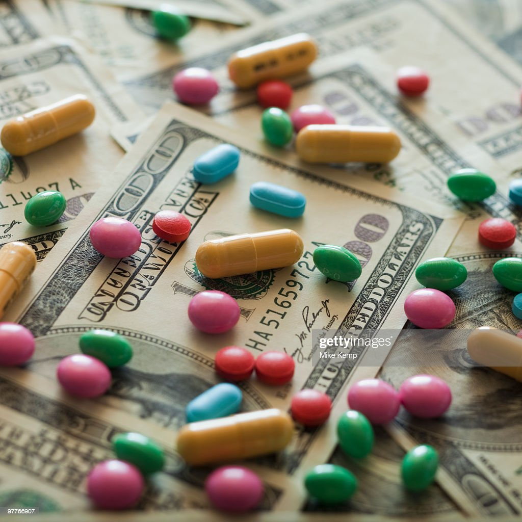 Diet pills and money