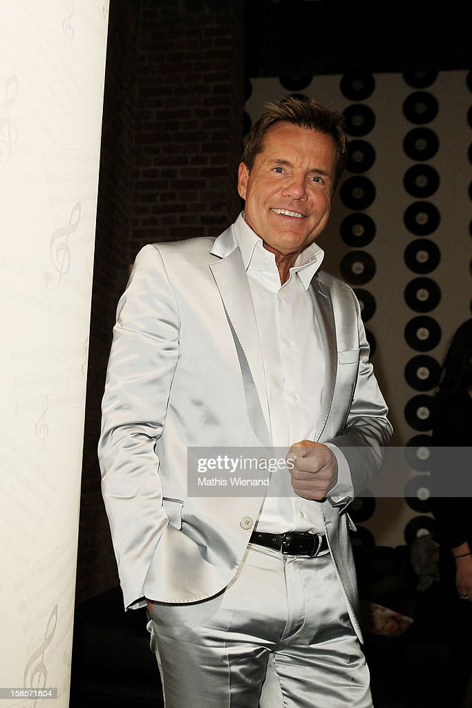 Dieter Bohlen attends the Dieter Bohlen Wallpaper Collection presentation of P&S International at Balloni Halls on December 19, 2012 in Cologne, Germany.