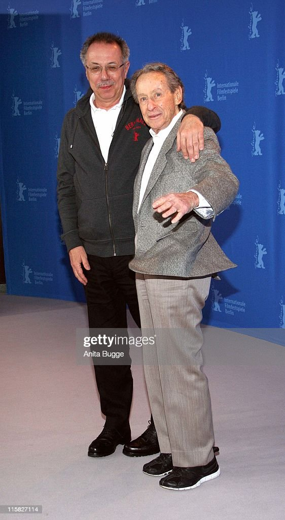 Dieter Kosslick and Arthur Penn during 57th Annual Berlinale International Film Festival Arthur Penn Honoured at Grand Hyatt in Berlin Berlin Germany