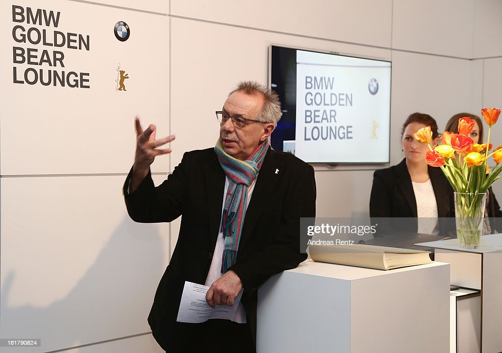 <a gi-track='captionPersonalityLinkClicked' href=/galleries/search?phrase=Dieter+Kosslick&family=editorial&specificpeople=213030 ng-click='$event.stopPropagation()'>Dieter Kosslick</a> attends 'BMW Golden Bear Lounge' at the 63rd Berlinale International Film Festival on February 16, 2013 in Berlin, Germany.