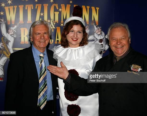 Dieter Kürten Clown Eckart Witzigmann Premiere von W I T Z I G M A N N R O N C A L L I Bajazzo Frankfurt Hessen Deutschland Europa Gala Galapremiere...