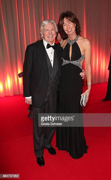 Dieter Kuerten and his wife Petra Kuerten during the Goldene Kamera 2015 reception on February 27 2015 in Hamburg Germany