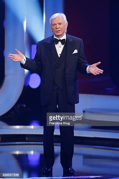 Dieter Kuerten attends the Deutscher Fernsehpreis 2014 show on October 02 2014 in Cologne Germany