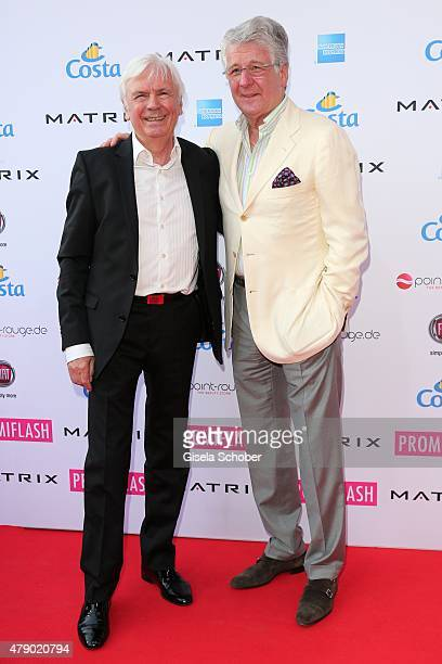 Dieter Kuerten Marcel Reif attend the Movie meets Media party during the Munich Film Festival on June 29 2015 in Munich Germany
