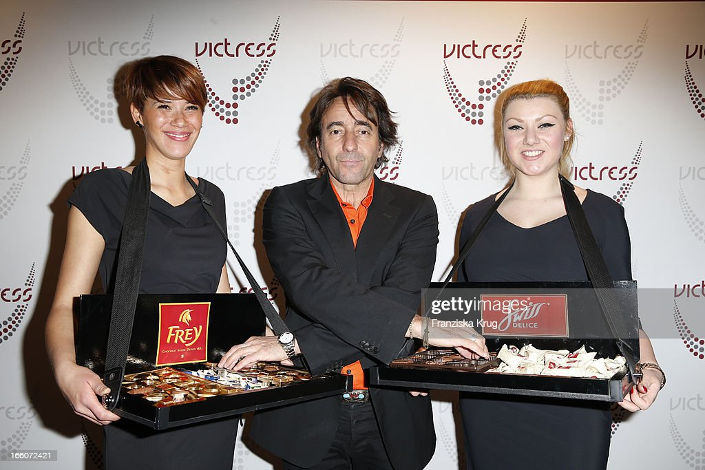 Dieter Landuris attends the Victress Day Gala 2013 at the MOA Hotel on April 8, 2013 in Berlin, Germany.