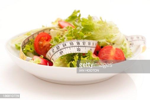 Dieting, conceptual image