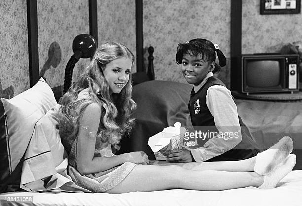 LIFE 'Dieting' Episode 7 Aired 3/21/80 Pictured Julie Piekarski as Sue Ann Weaver Kim Fields as Dorothy 'Tootie' Ramsey