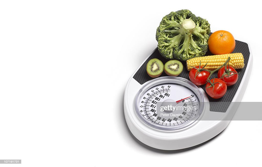 Dieting healthy living five a day : Stock Photo