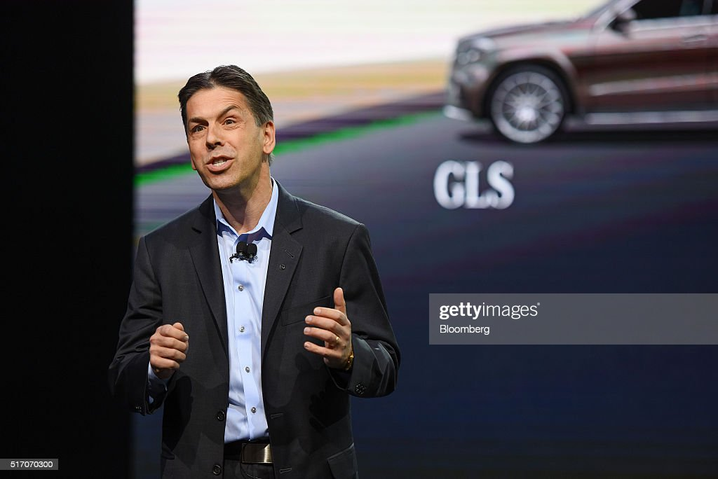 Inside the 2016 new york international auto show getty for Mercedes benz usa dietmar exler