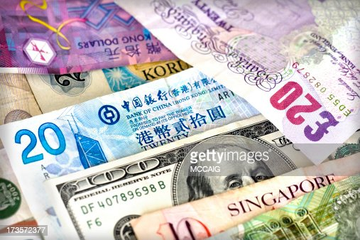 Different bills of different currencies