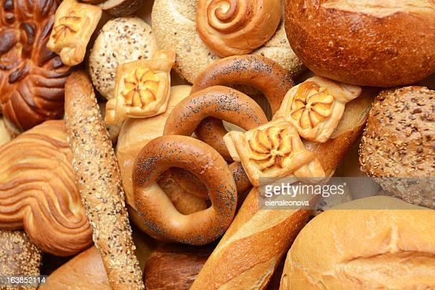 Verschiedene Brot