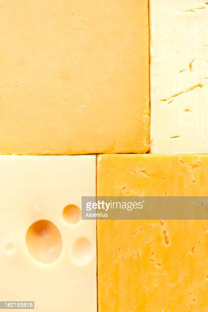 Different cheeses