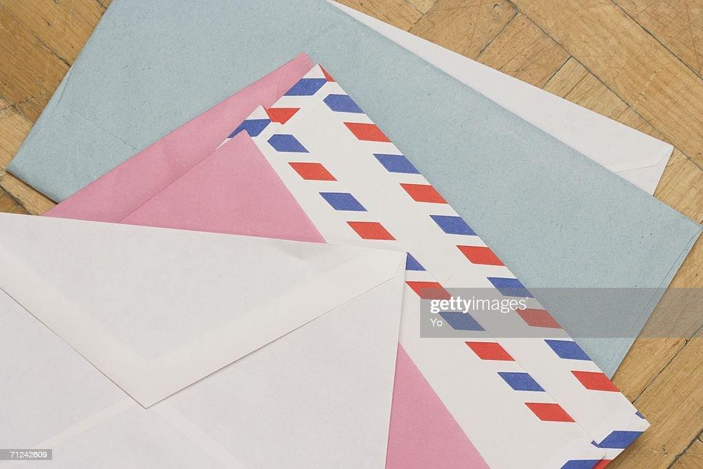 Different envelopes : Stock Photo