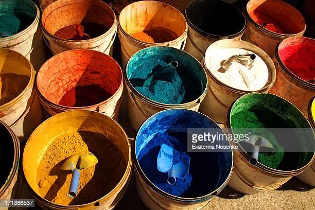 Different paints